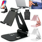 Foldable Aluminum Desk Stand Adjustable Holder For IPhone 11 X XR Ipad Air Mini