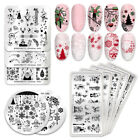 BORN PRETTY Nail Art Stamping Plates Geometry Flower Image Templates Decortaion