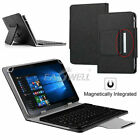 "For Onn 10.1"" inch Pro Tablet Universal Leather Case Cover + Wireless Keyboard"