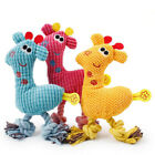Pet Dog Puppy Chicken Chew Toy Squeaker Squeaky Soft Plush Play Sound Toys UK