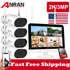 ANRAN Outdoor Wireless Security WiFi Camera System 1080P HD 4/8CH NVR With 1TB