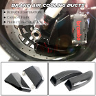 108mm Carbon Air Duct Caliper Brake Cooling for KAWASAKI ZZR1100 ZX11 ZX12R 14R