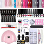 MAD DOLL  Extension Nail Gel Starter Kit 12 Colors Set LED Lamp Dryer Tool