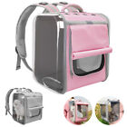 Pet Carrier Backpack for Small Cats and Dogs Breathable Outdoor Travel Bag Pink