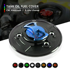 Motorcycle CNC Keyless Tank Fuel Gas Caps Cover for BMW K1600 GT/GTL 10-12