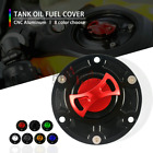 Motorcycle CNC Keyless Tank Fuel Gas Caps Cover for aprilia RSV4 R 09-15 RSV1000