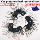 59pcs Set Pin Ejector Wire Kit Extractor Auto Terminal Removal Connector Tool Xt