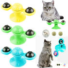 Cat Turning Windmill Turntable Teasing Interactive Hair Brush Tickle Scratch Toy