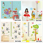 Animals Height Home Bedroom Decor Removable Wall Sticker Decal Decoration