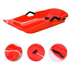 Snow Sled Sledge Outdoor Winter Toboggan Sleigh for Kid Adult Winter Fun Toy