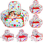 Portable Indoor Kids Baby Children Playing Game Toys Tent Ocean Ball Pit Pool