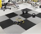 INTERLOCKING SOFT FORM FLOOR MATS EVA PUZZLE PLAY RIBBER YOGA TILES GYM HOUSE