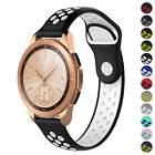 StrapsCo Perforated Rubber Band Strap for Samsung Galaxy Watch Active2