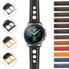 StrapsCo Leather Rally Watch Band Strap for Samsung Galaxy Watch 3