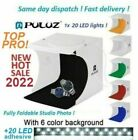 Light Room Photo Studio Photography Lighting Tent Kit Backdrop Cube Mini Box CO