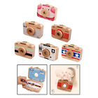 Wooden Baby Tooth Box Milk Teeth Storage Box Container Lanugo Hair Case