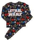 Boys Grey and Multi-coloured Star Wars Pyjamas- Ages 3-4 and 5-6