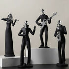 Art Living Room Instrument Player Resin Figurine Home Decor Figure Crafts Office