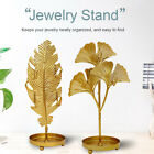 Jewelry Stand Earrings Necklace Storage Rack Bedroom Leaf Shape Display Stand