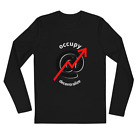 Occupy the Internet - Long Sleeve Fitted Crew