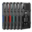 For Samsung Galaxy A72 A52 A12 5G Shockproof Armor Hard Case Cover With Clip