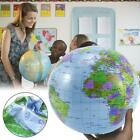 World Earth Geography Blow Up Atlas Education Toy Inflatable Ball Map Globe N8A3