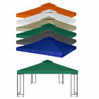 Garden Gazebo Top Cover Roof Replacement Tent Canopy Patio Waterproof 10' x 10'