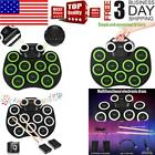 Portable Electronic Roll up 9Key Drum Set Digital USB Drum Pads Silicone Pad Kit