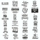 Removale Word Art Vinyl Wall Sticker Quote Mural Home Kitchen Decal Room Decor