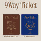 FROMIS 9 9 WAY TICKET 2nd Single Album 2 Ver SET 2CD POSTER 2 Photo Book 8 Card