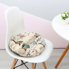 Chair Non-Slip Round Booster Quilted Seat Pad Simple Washable Cushion