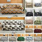1/2/3/4 Seater Colourful Elastic Soft Sofa Couch Stretch Slipcover Protector