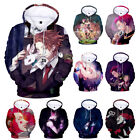 Anime HUNTER HUNTER Hisoka Unisex Long Sleeve Hoodie Cos Pullover Top Coat 9Size