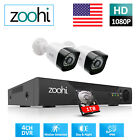 Home Security Camera System CCTV 1080P HD DVR HDMI Outdoor 1TB HDD Night Vision
