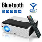 HD Android Projector WIFI Blue-tooth Wireless Game Backyard Party HDMI USB 1080P
