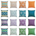 """Uk 16"""" 18"""" 20"""" 24"""" Waterproof Cushion Cover Pillow Case Throw Outdoor Home Decor"""