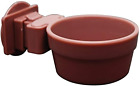Living World Lock and Crock Dish, Food and Water Dish for Small Animals, 6 Oz.,