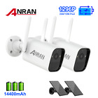 Solar & Battery Powered Outdoor Wireless Audio Security Camera WifI Audio System