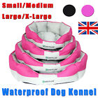 Round Beds Soft Waterproof Washable Hardwearing Basket Dog Bed S/M/L/XL New!!