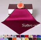 1 pc 19M/M 100% Silk Charmeuse Handkerchief Hankies Free p&p