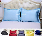 1 pc 30MM Heavy Weight Silk Pillow Shams Luxury Oxford Style Standard Queen King