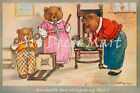 The Three Little Bears  - CANVAS OR PRINT WALL ART