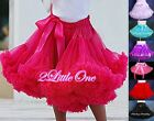 Girl Pettiskirt Petticoat Dance Tutu Birthday Party Skirt Kids Size 2T-8 PP001A