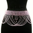 Belly Dancing Beaded Hip Wrap Scarf Belt