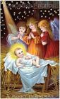 Christmas Nativity Angels Quilt Block Multi Sizes