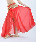 New Sexy belly dance Costume One Opening Skirt Dress 12 colours