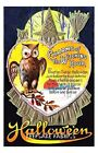 Halloween Owl Charms Witching Hour Quilt Block Multi Sz