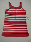 OLD NAVY GIRLS Pink Striped Lace Tank Top Size M & XL NWT