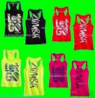 "Zumba ""Let Go"" Racerback Tank-Available in 4 colors-New With Tags-Ships Fast!"