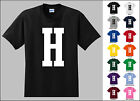 Capital Letter H Alphabet T-Shirt